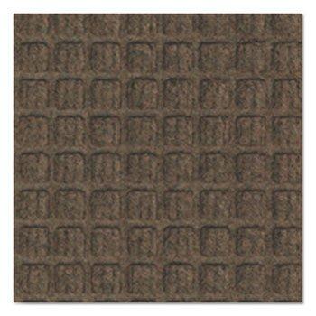 Super-Soaker Wiper Mat W/Gripper Bottom, Polypropylene, 34 X 119, Dark Brown - Crown Super Soaker Wiper Mat
