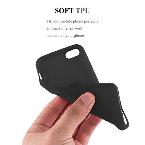 Cadorabo - Cubierta protectora para >                                  Apple iPhone 5 / 5S / SE                                  < de silicona TPU en diseño Escarcha