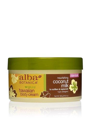 Coconut Milk Body Cream-180 ml Brand: Alba Botanica