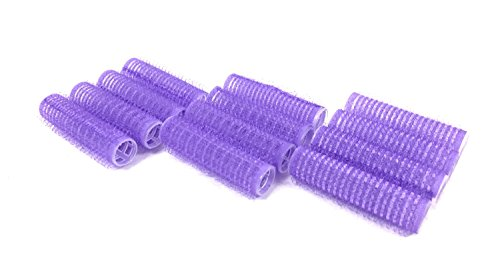 Self Hair Grip Curlers Rollers Pro Salon Hairdressing (Mini)