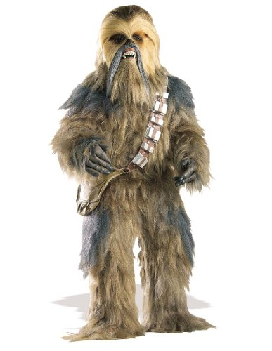 Collector's Edition Chewbacca Star Wars Costume for Men -