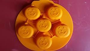 Pumpkin Ice Cube Molds (Halloween)