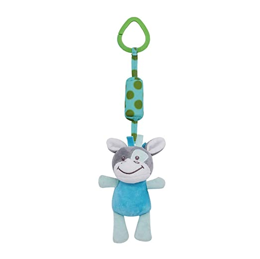 b9a1488a28db IAMUP Baby Infant Rattles Toys for KidsPlush Cute Toy Animal Smart Bear  Hanging Play Soft Bed
