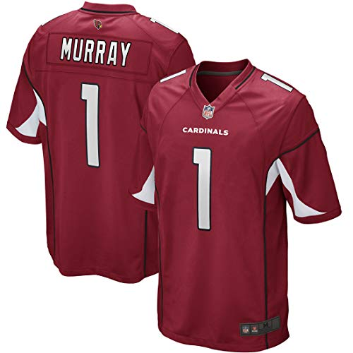 Outerstuff Youth Kids Arizona Cardinals 1 Kyler Murray 2019 Draft First Round Football Jersey (YTH 10-12 M, Red)
