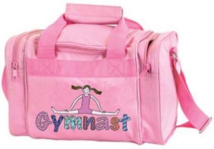 Amazon.com  DansBagz by Danshuz Geena Gymnast Duffel Bag O S PINK ... ad1a6f8d5e970