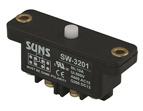 Suns International SW-3101 SW31 Series SPDT Double Break Plunger Snap Action Industrial Switch - 1 Item(s)