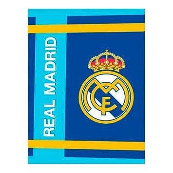 Real Madrid Manta Escudo Celeste coralina