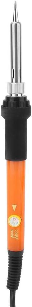 Stylo pyrogravure Kit de Fer /à souder /électrique avec temp/érature r/églable pour la Combustion du Cuir sur Bois Gravure Gaufrage Soudage /à 33 Points Blanc HEEPDD Kit de Gravure sur Bois