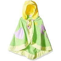 Toalla de hadas verde 2-6X Kidorable para niñas, verde, pequeña - Toallas suaves de algodón 100% Funky Design para niños