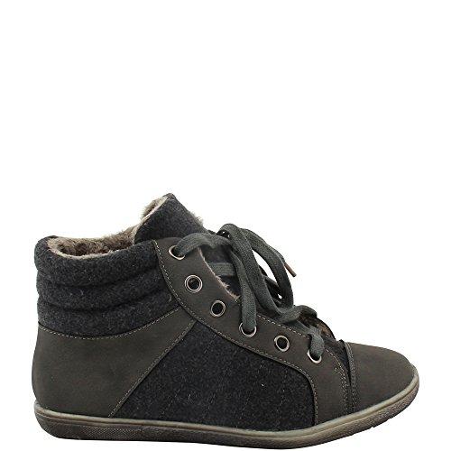 Pantofole Donna Grigio Unbekannt Stivaletto A grigio pfvW8xWqPn