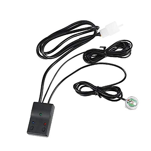 Auxbeam Car Automatic Light Sensor Wiring Harness match wiring loom harness kit with fuse and relay 3 Meters Acc wiring 1 Year Warranty: