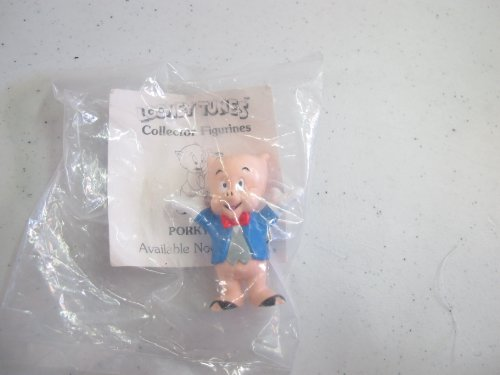 Vintage Pvc Figure Looney Tunes Porky Pig