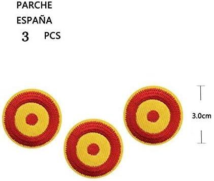 BANDERA DEL PARCHE BORDADO PARA PLANCHAR O COSER (ESPAÑA-R3): Amazon.es: Hogar