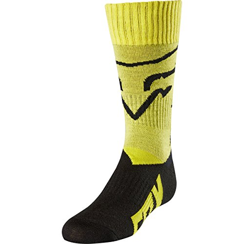 Fox Racing Fri Mx Socks (2018 Fox Racing Youth Mastar MX Socks-Yellow-YS)