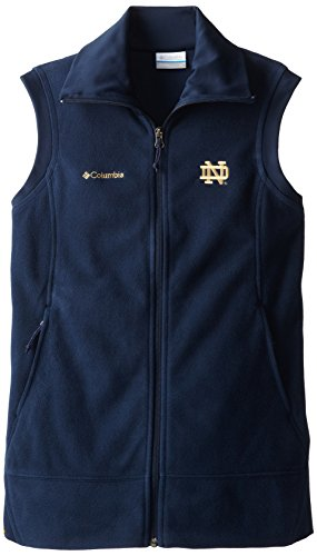 (NCAA Notre Dame Fighting Irish Give and Go Vest, Collegiate Navy, Small )