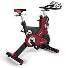 Sole Fitness SB900 Indoor Cycle Trainer, Red and Black