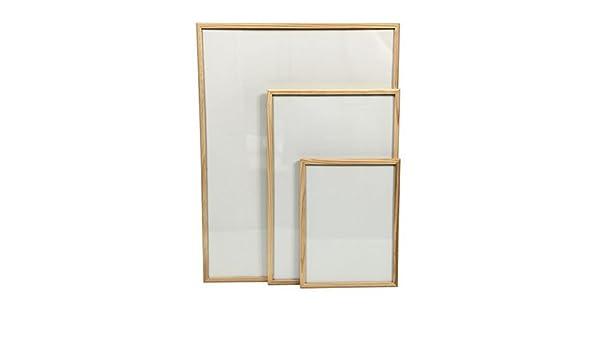 Dry-para toallitas húmedas de cuentas de tabla para ejercicios de 30 x 40 cm marco de madera de pino: Amazon.es: Hogar