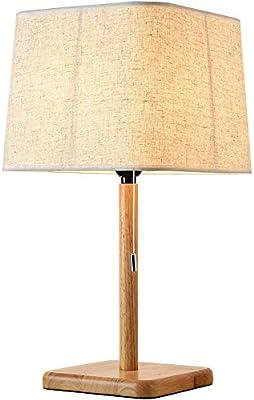 Pastoral creativa escritorio lámparas de tela pantalla lámpara de ...