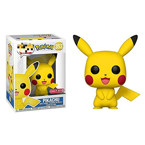 ZJAH 2Pcs Funko Pop Pokemon 9cm Pikachu 353 # The Child Collectible Toy, Multic