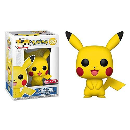 ZJAH 2Pcs Funko Pop Pokemon 9cm Pikachu 353 # The Child Collectible Toy, Multic