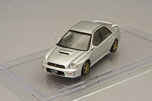 DEC 2020 Subaru 2001 Impreza WRX Car 1//64 BM Creations silver