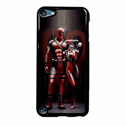 Harley Quinn And Deapool iPod Touch 6 Case (White Plastic)