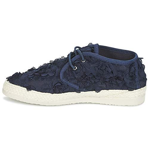 Taille Vintage Textile Coloris Boots 37 Desert Matiere Marine Ippon xz1Ywx