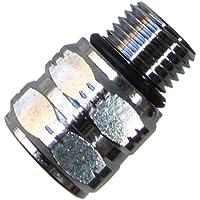 Scuba Choice Adaptador de Buceo M-1/2-20 a F-3/8-24 AS568-013 N70 | 1/2-20 UNF-2A | 3/8-24 UNF-2B