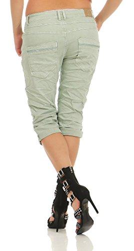 Menthe Bleu Karostar Boyfriend Jeans by Lexxury Femme bleu CwxOq0PxS