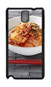 Korean Kimchi PC Case and Cover for Samsung Galaxy Note 3 Note III N9000 Black