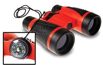 Geosafari Compass Binoculars -- Case of 4