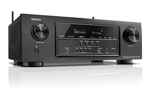 Denon AVR-S720W 7.2 Channel Full 4K Ultra HD AV Receiver with Built-In Wi-Fi and Bluetooth (Certified Refurbished)