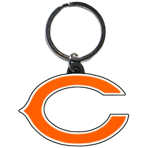 NFL Chicago Bears Flex Rubber Key Chain