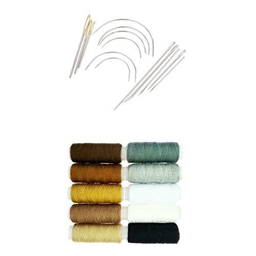 8 Kinds Canvas Leather Craft Tool Hand Sewing Stitching Needles Carpet DIY Kit | Kinds - 24Pcs Style 3