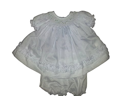 Willbeth Infant Dress (Preemie, White)