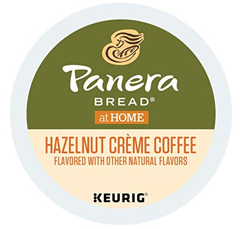 Panera Bread Hazelnut Creme Coffee single serve capsules for Keurig K-Cup Pod brewers (36 Count)