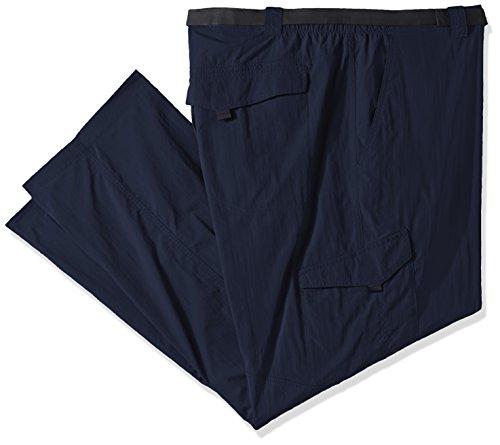 Columbia Silver Ridge Big & Tall Cargo Pant, Cypress/Valencia, 50 x 34