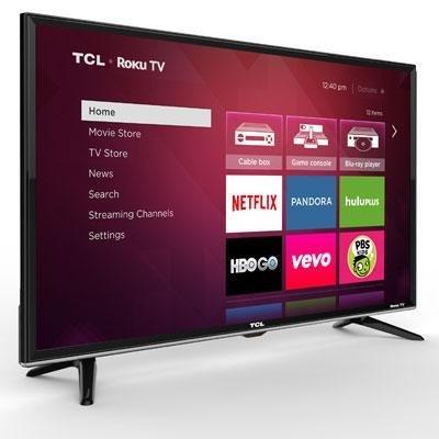 "40"""" 1080p Smart LED Roku TV Computers, Electronics, Office"