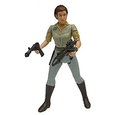 Star Wars Power of the Jedi General Leia Organa Action Figure: Toys & Games