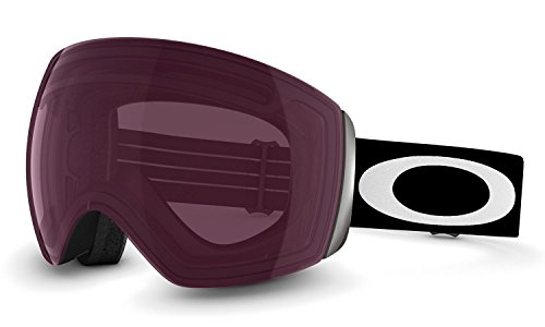 Oakley Flight Deck Ski Goggles, Matte Black/Prizm Rose (2014 Oakley Goggles)