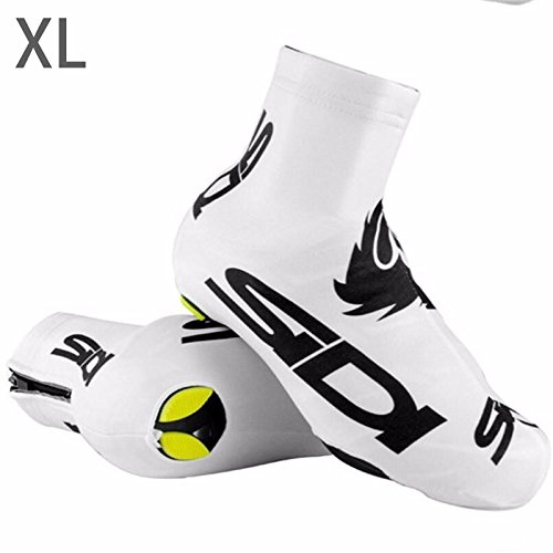 OYJJ Bicycle Shoe Cover Wear-Resistant, Non-Slip Waterproof Multiple Colors Available: White/Black/Green/Blue Riding Dedicate