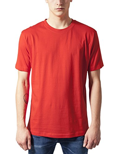 T Classics Rouge 199 shirt red Homme Tee Urban Basic qpzfwtf7