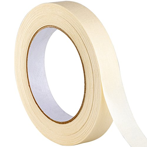 - Nova Supply 3/4 in Pro-Grade Masking Tape. Single Roll = 60 Yards of Multi-Use, Easy Tear Tape. Great for Labeling, Painting, Packing and More. Adhesive Leaves No Residue.