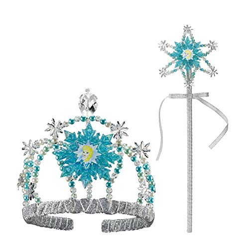 Frozen Elsa Accessory Kit - Tiara and Wand