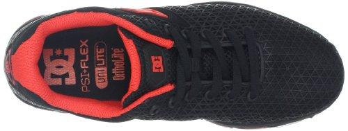 DC Womens PSI Flex Sneaker Black/Fluorescent r5yR8W