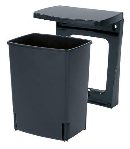 Brabantia Einbau Mülleimer, 10 Liter Schwarz: Amazon.De: Küche