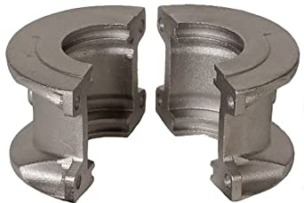 """Lovejoy 05295 Size 1070 Grid Coupling 2-Piece Cover Set, Horizontal, Aluminum, includes Covers, Seals, Gaskets, Grease Pack and Metric Hardware, 6.37"""" OD, 6.12"""" Overall Coupling Length, 8800 in-lbs Nominal Torque, 4125 rpm Max Rotational Speed"""
