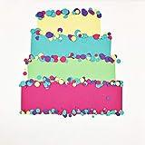 Blu Raspberry/Teal Blue Cardstock Paper - 12 X 12