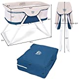BABY JOY Rocking Bassinet, 2 in 1 Lightweight