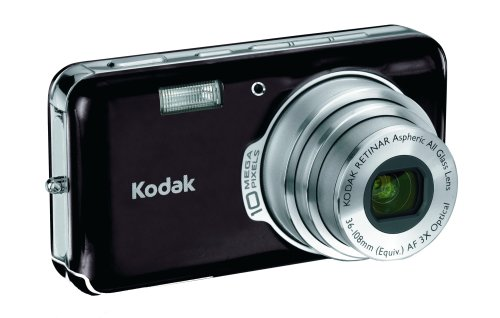Kodak Easyshare V1003 10 MP Digital Camera with 3xOptical Zoom (Midnight Black) For Sale